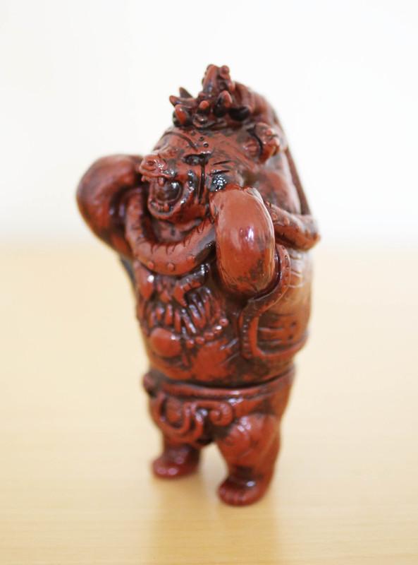 Clay Human Bear by Kakeruri