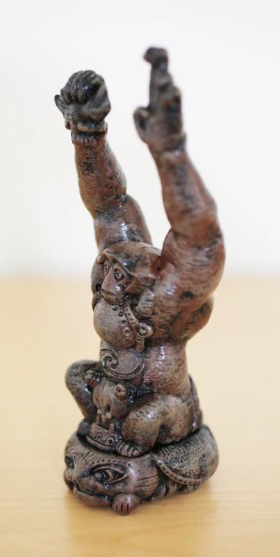 Clay Human Monkey by Kakeruri