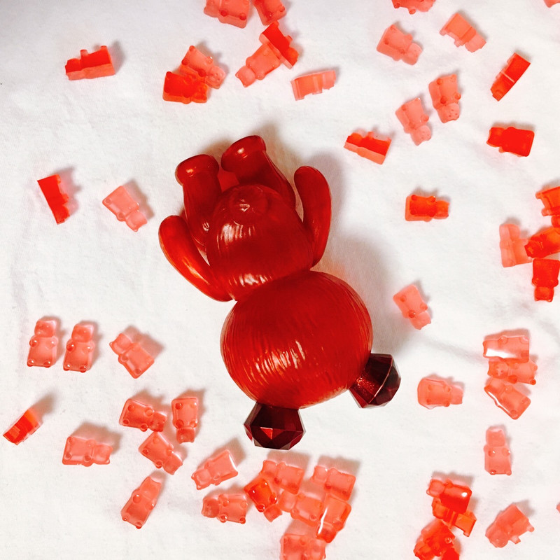 Jewel Bear Berry Gummy Hand Painted by MAMES