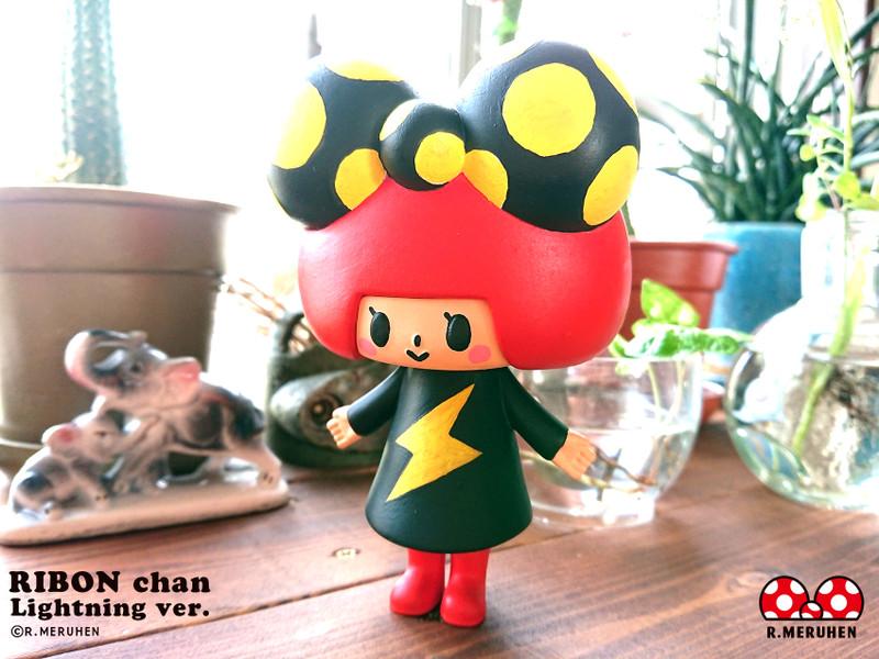 Ribon-Chan Lightning Ver. Hand Painted by Rieko Meruhen