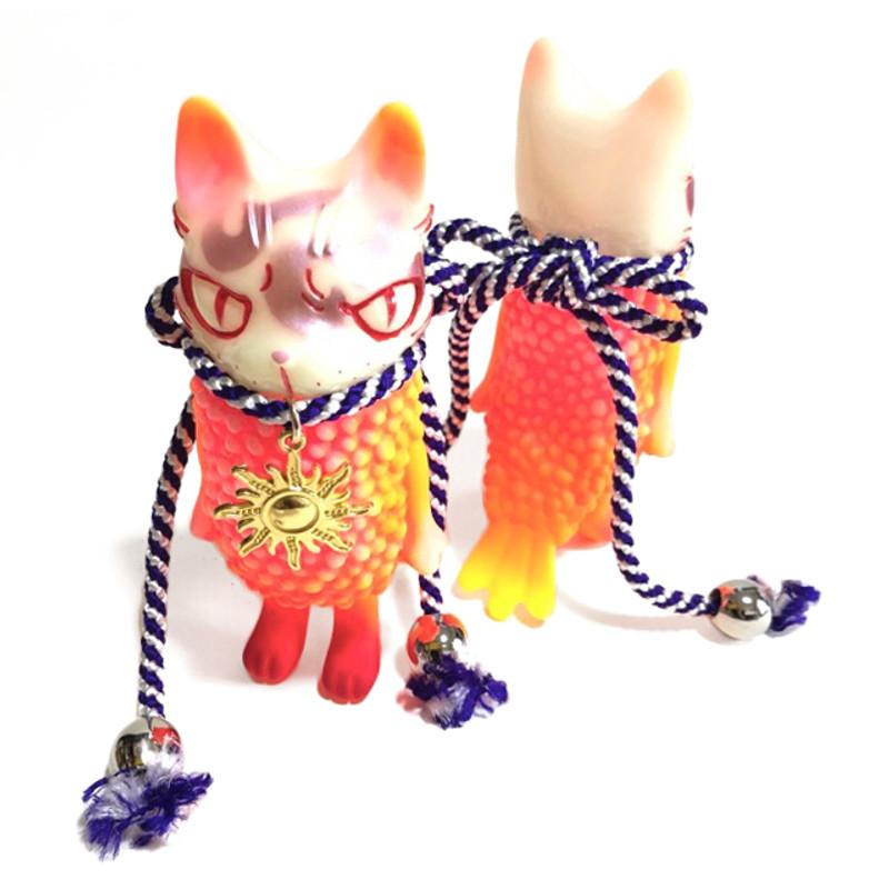 Ebineko Symbol GID Hand Painted by Yasu