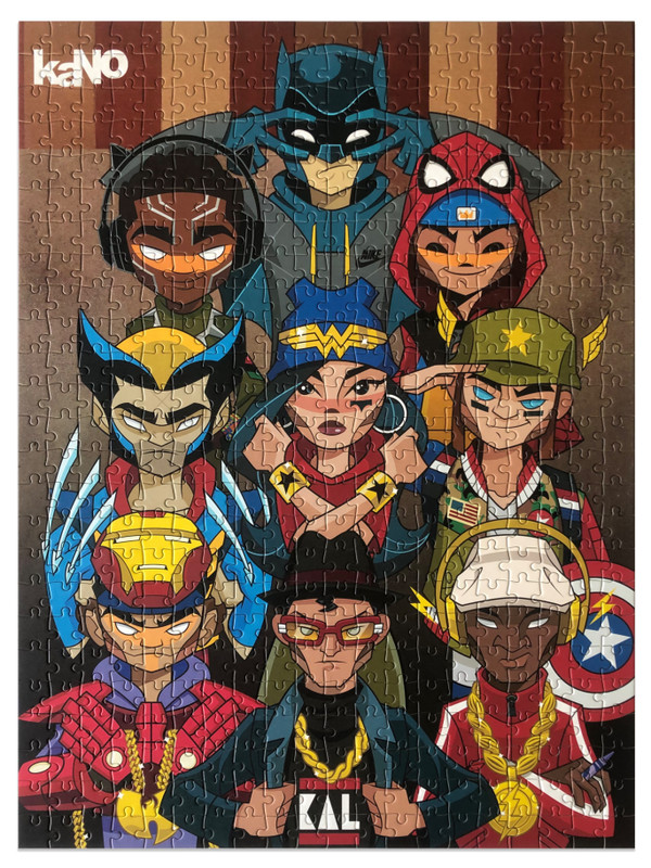 Heroes Jigsaw Puzzle by kaNO PRE-ORDER SHIPS JUL 2020