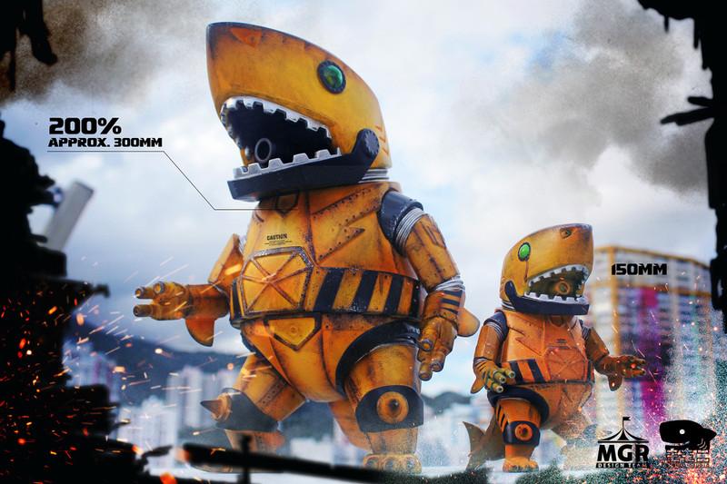 200% Mecha Shark Lords & Mecha Shark lords Jr. - Super Engineer DX set PRE-ORDER SHIPS  AUG 2020