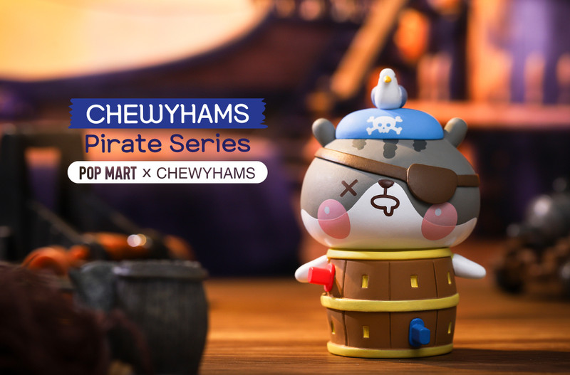 Chewyhams Pirate Mini Series by Funi : Blind Box