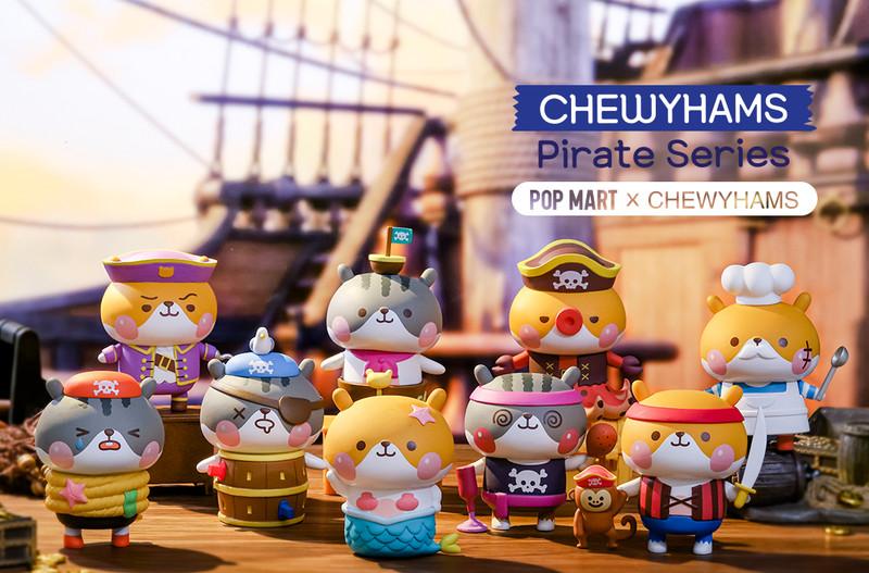Chewyhams Pirate Mini Series by Funi : Blind Box PRE-ORDER SHIPS JUL 2020