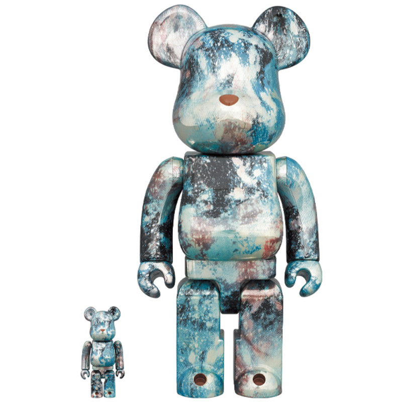 Be@rbrick 400% and 100% Pushead #5