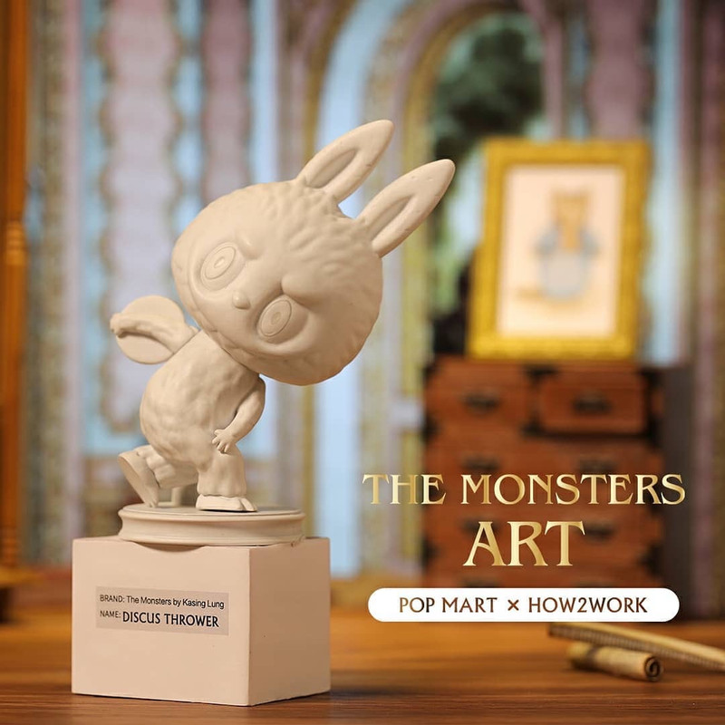 The Monsters Art Labubu Mini Series Blind Box by Kasing Lung