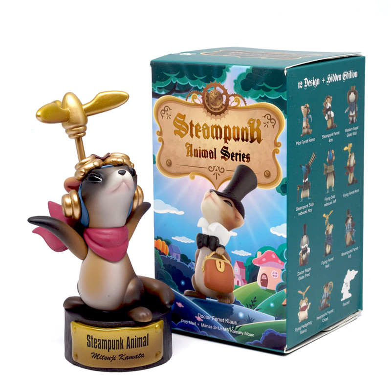 Steampunk Animals Mini Series Blind Box by Manas S+U+M & Kamaty Moon