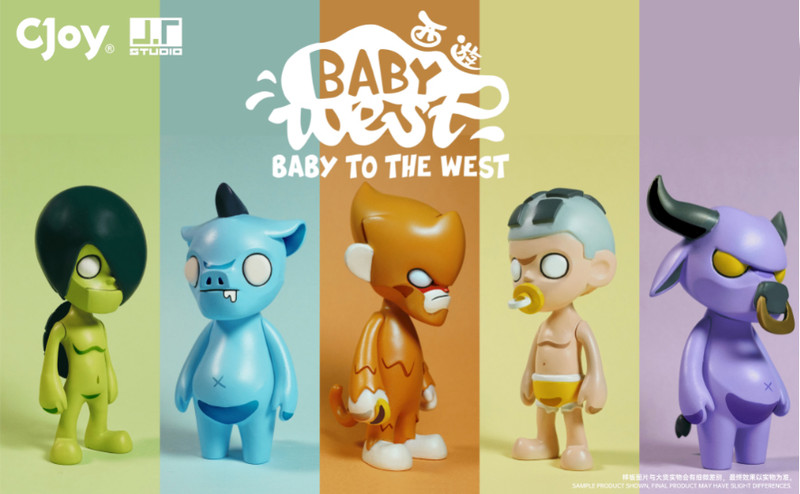 Baby to the West Mini Series Blind Box by J.T. Studio
