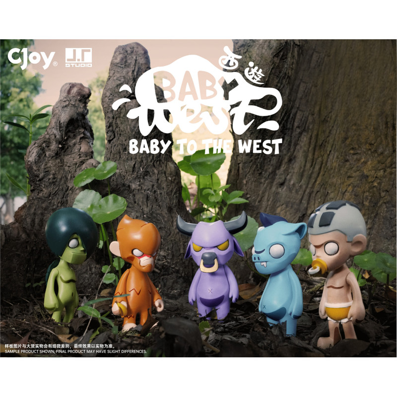 Baby to the West Mini Series Blind Box by J.T. Studio PRE-ORDER SHIPS OCT 2020