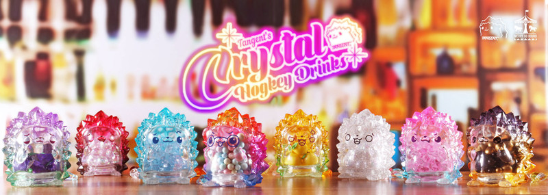 Crystal Hogkey Drinks Mini Series Blind Box by Tangent