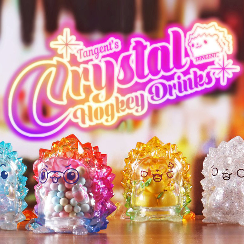 Crystal Hogkey Drinks Mini Series Blind Box by Tangent PRE-ORDER SHIPS AUG 2020