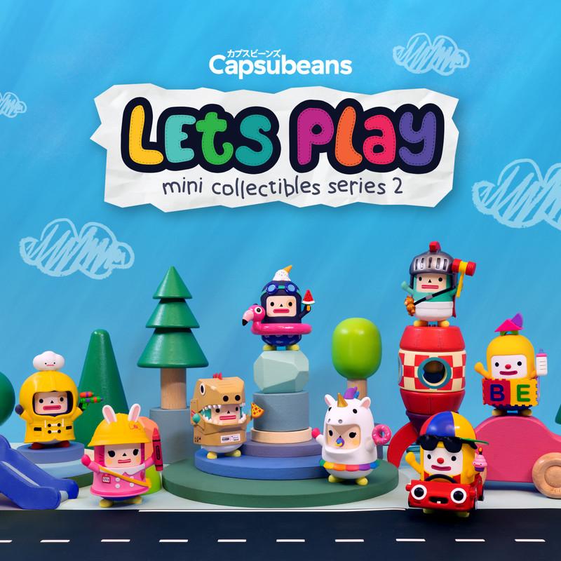 Capsubeans Let's Play Mini Series 2 Blind Box