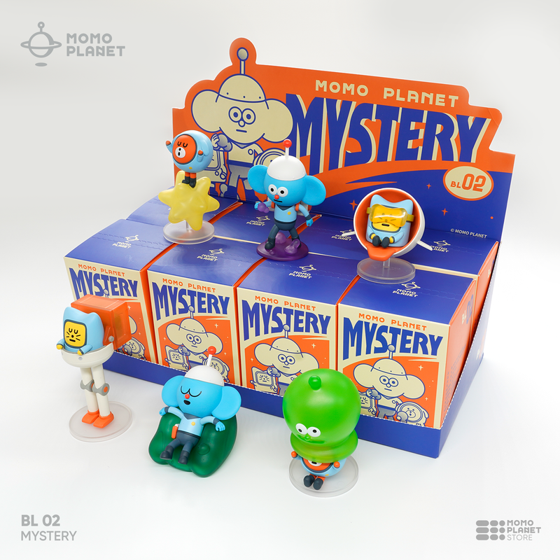 Momo Planet Mystery Mini Series Blind Box