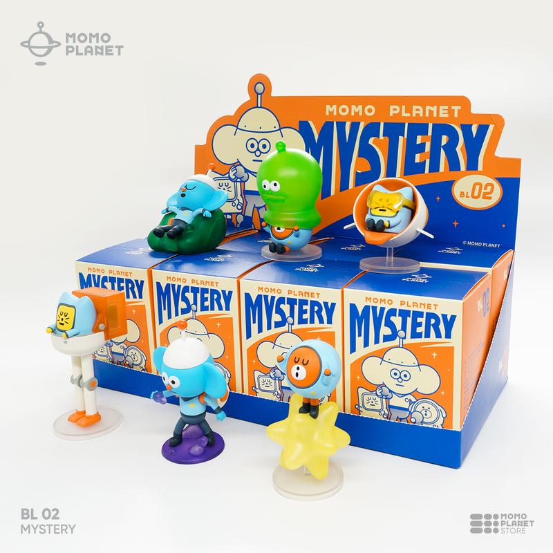 Momo Planet Mystery Mini Series Blind Box PRE-ORDER SHIPS AUG 2020