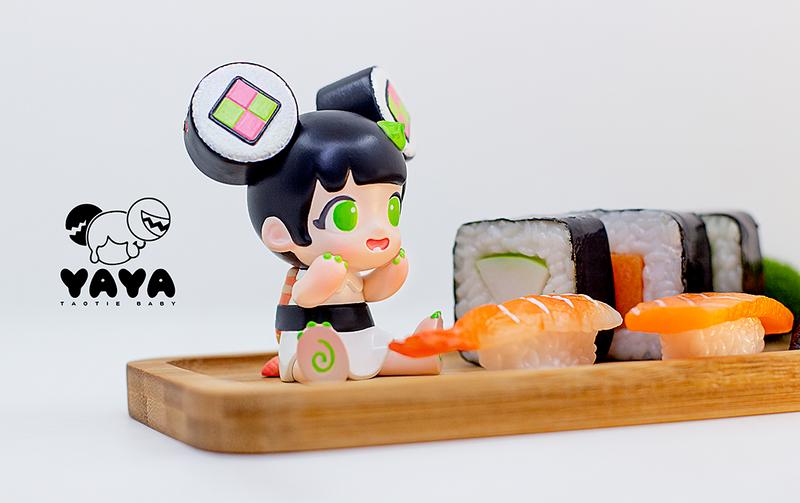 Yaya Sushi Black by Moe Double Studio