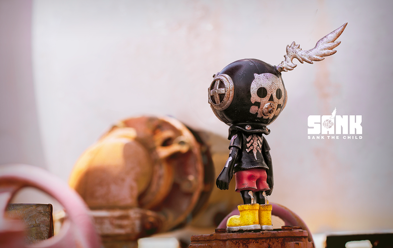 Little Sank Darkness by Sank Toys PRE-ORDER SHIPS AUG 2020