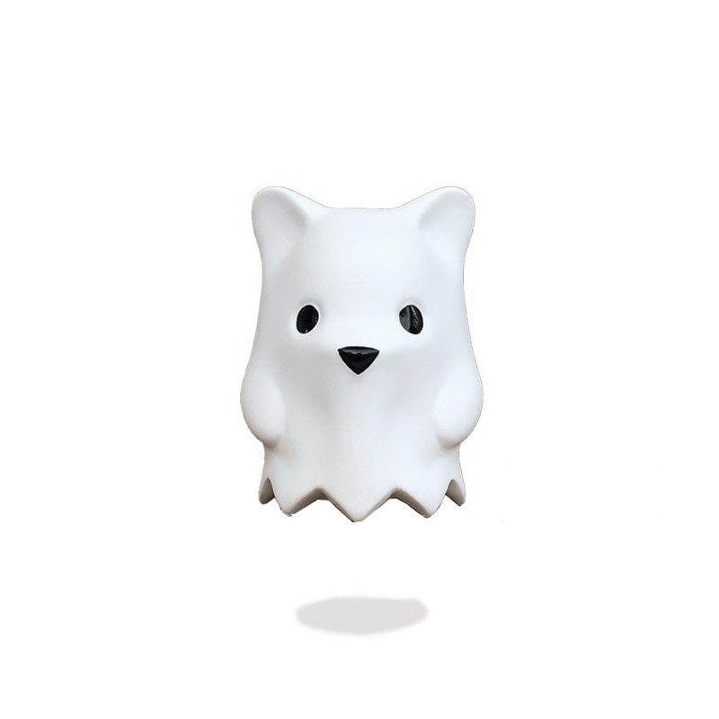 Ghostbear Matte White by Luke Chueh