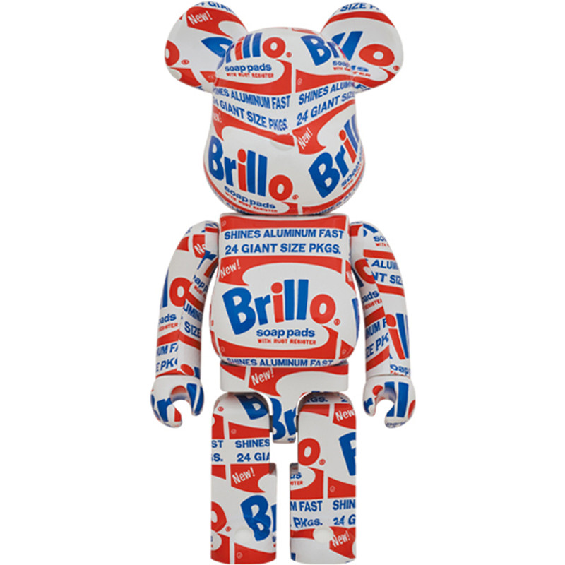 Be@rbrick 1000% Brillo by Andy Warhol PRE-ORDER SHIPS FEB 2021