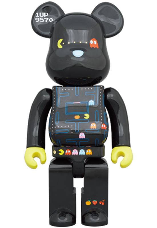 Be@rbrick 400% and 100% Pac-Man
