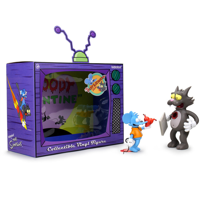 The Simpsons Itchy & Scratchy Medium Figure Original
