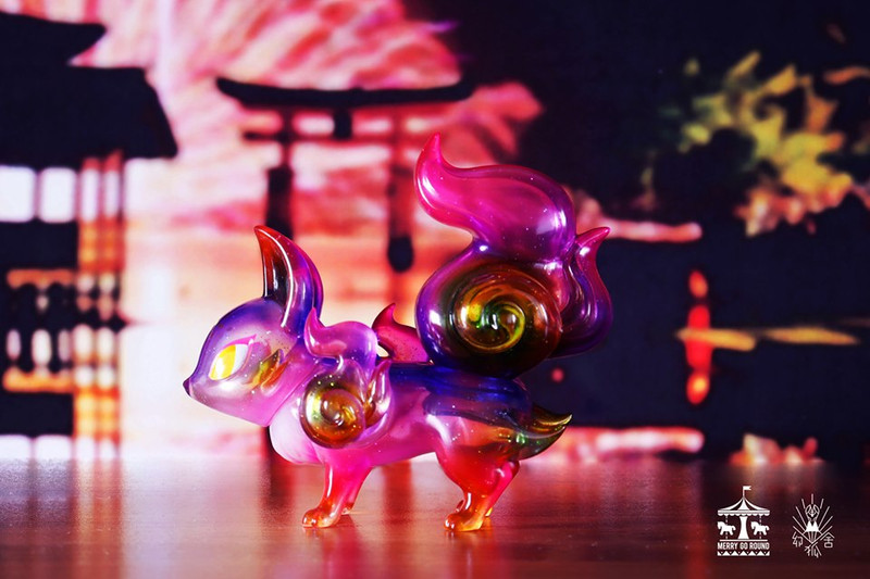 The Phantom Fox Flower Fire by Genkosha