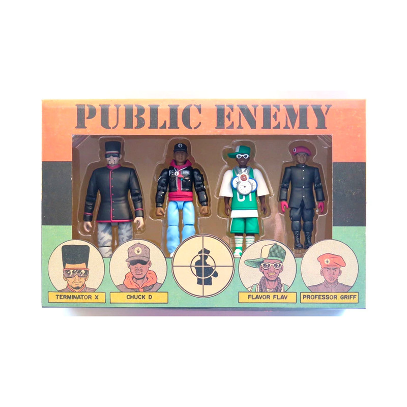 PUBLIC ENEMY Action Figure Set