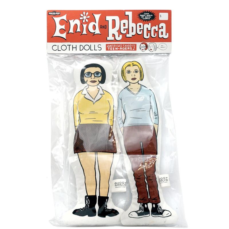 Enid & Rebecca Cloth Dolls by Daniel Clowes
