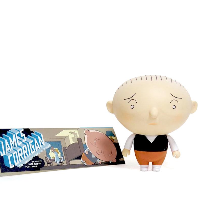 Jimmy Corrigan Vital Animus Vinyl Doll