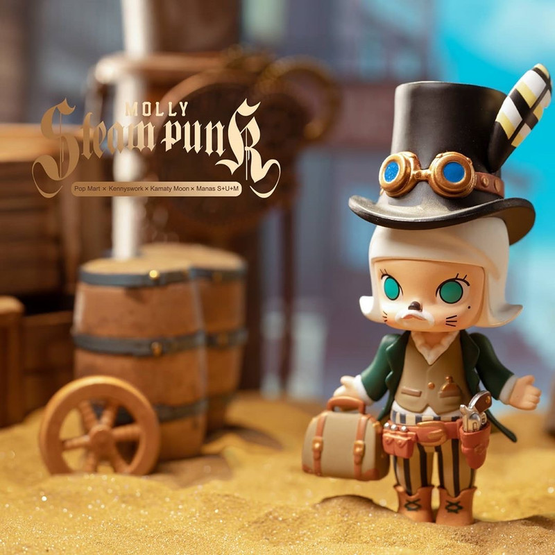 Molly Steampunk Mini Series Blind Box by Kenny Wong