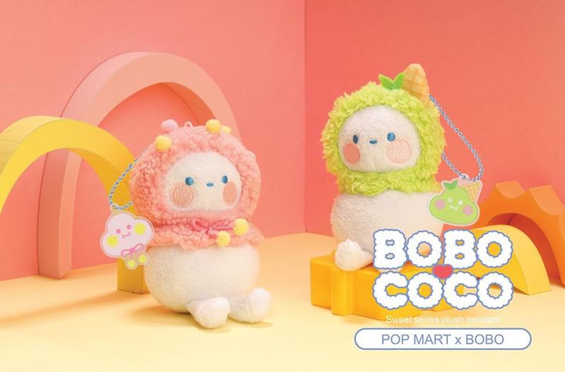 Bobo & Coco Sweet Plush Keychain Blind Box