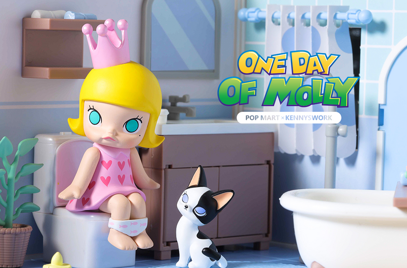 Molly One Day Mini Series Blind Box by Kenny Wong
