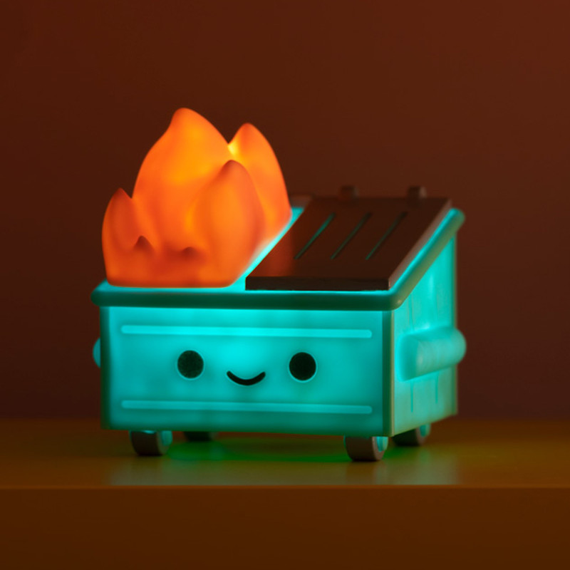 Dumpster Fire Night Light PRE-ORDER SHIPS DEC 2020