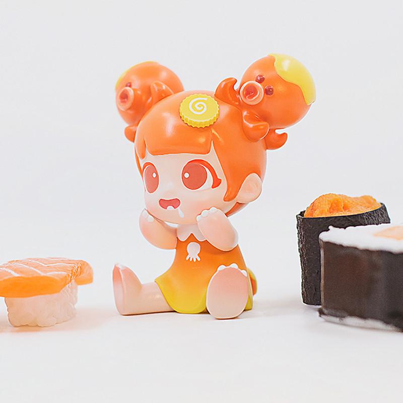 Yaya Octopus Orange by Moe Double Studio PRE-ORDER SHIPS SEP 2020