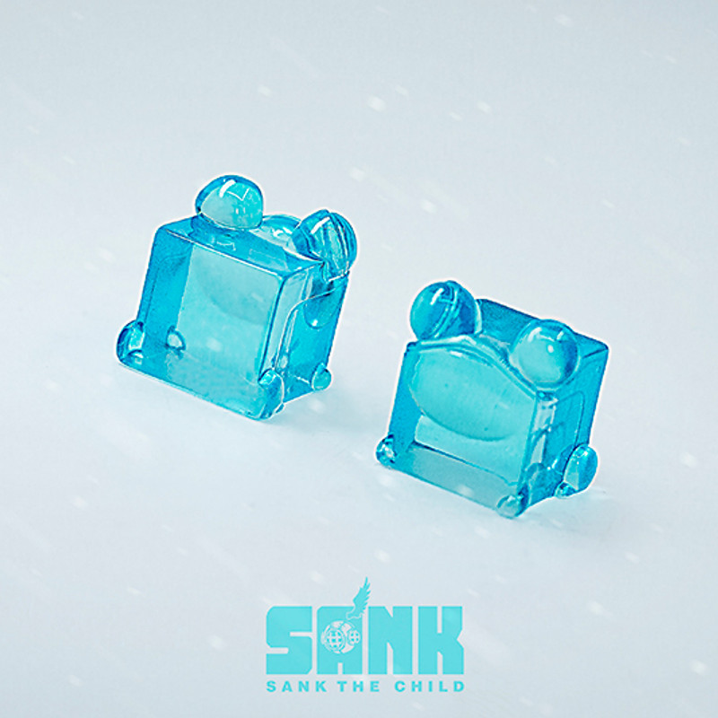 Cube Series Mint Frog by Sank Toys PRE-ORDER SHIPS SEP 2020