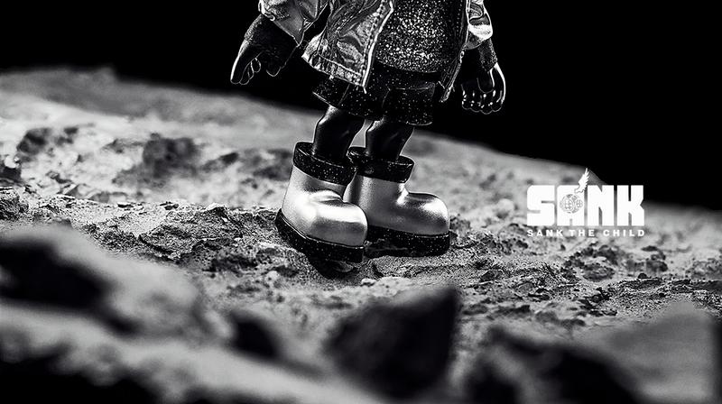 Little Sank Space Traveler Silver by Sank Toys PRE-ORDER SHIPS SEP 2020