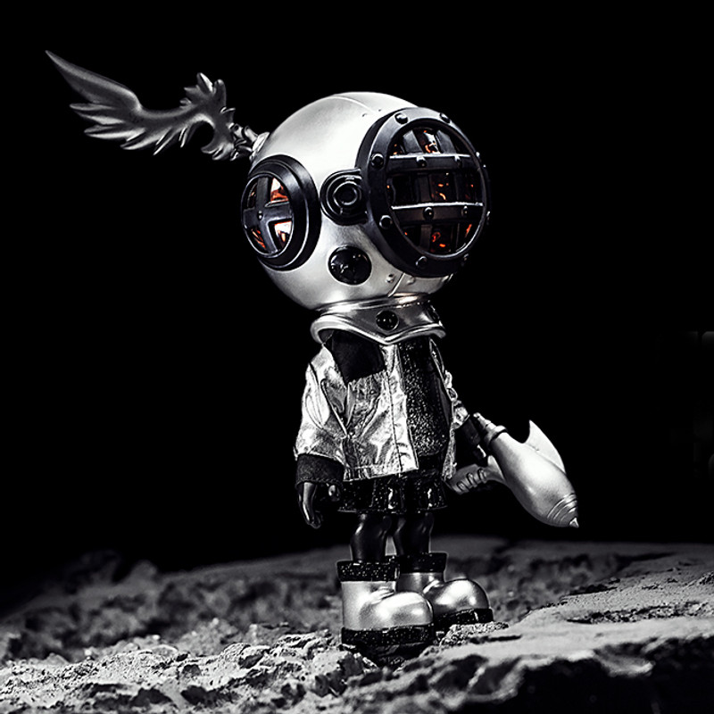 Little Sank Space Traveler Silver by Sank Toys PRE-ORDER SHIPS SEP 2020