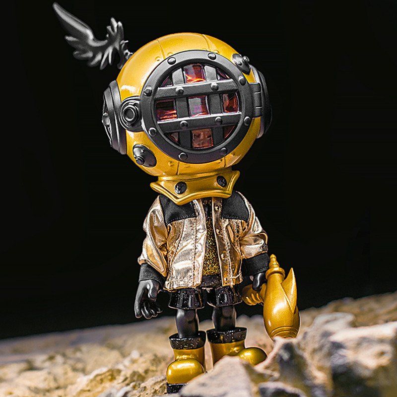 Little Sank Space Traveler Gold by Sank Toys PRE-ORDER SHIPS SEP 2020