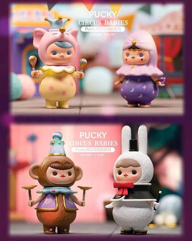 Pucky Circus Babies Mini Series Open Blind Box