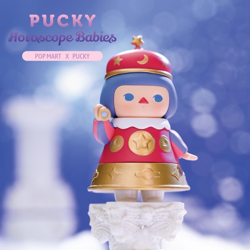 Pucky Horoscope Babies Mini Series Open Blind Box
