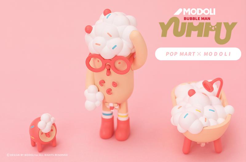 Yummy Bubble Man Mini Series by Modoli Blind Box