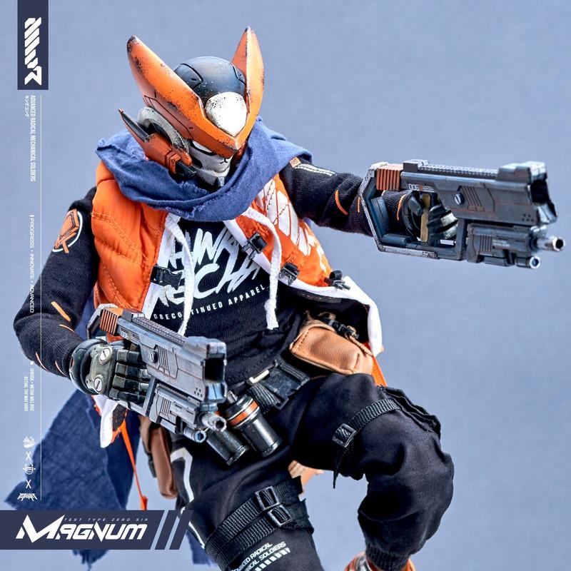 MWR Bulletpunk Universe FX01 + MAGNUM by Chk Dsk x Devil Toys x Quiccs Maiquez PRE-ORDER SHIPS Q1=Q2 2021
