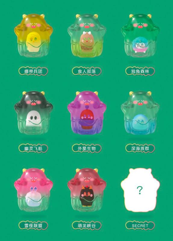 UoUo Little Monsters Family Blind Box
