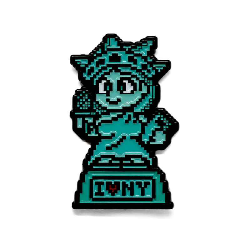 Libby Enamel Pin by Jeff Cinco