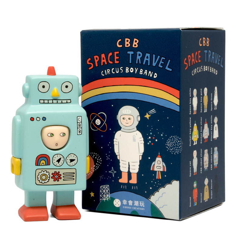 CBB Space Travel Blind Box by Circus Boy Band