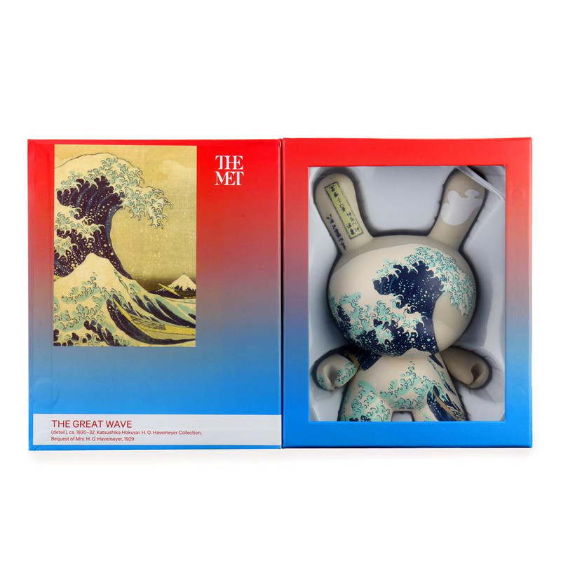"""The MET 8"""" Masterpiece Dunny Hokusai Great Wave PRE-ORDER SHIPS APR 2021"""