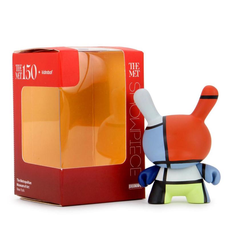 "The MET 3"" Showpiece Dunny Mondrian Composition PRE-ORDER SHIPS APR 2021"
