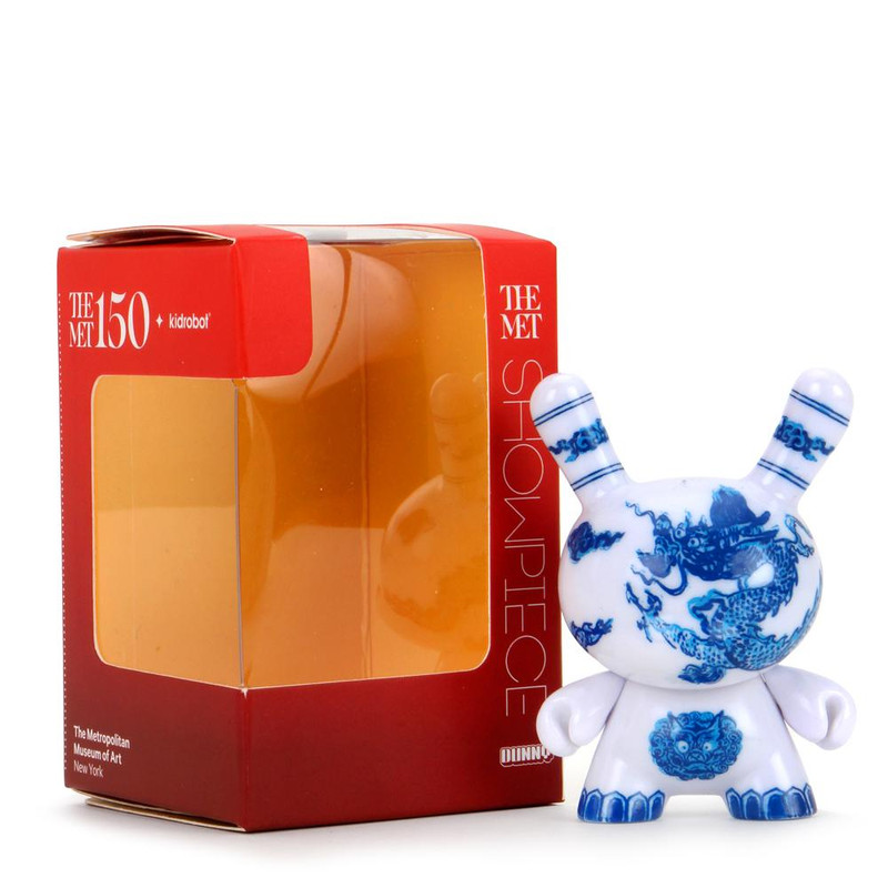 """The MET 3"""" Showpiece Dunny Chinese Dragon Panel PRE-ORDER SHIPS APR 2021"""