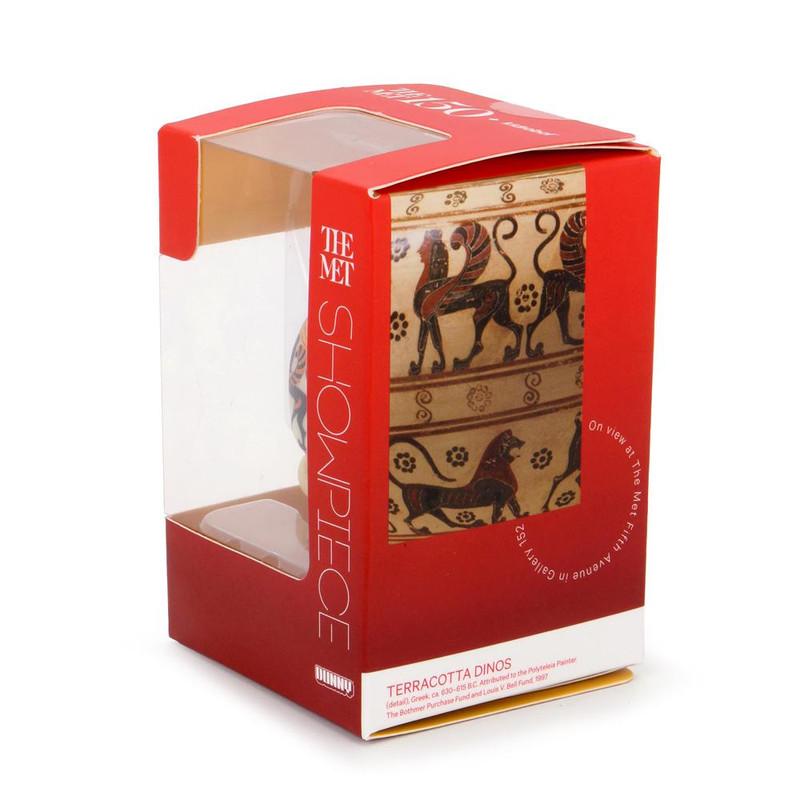 """The MET 3"""" Showpiece Dunny Greek Cosmetic Vase"""