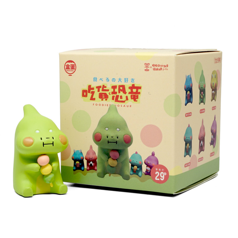Foodie Dinosaur Mini Series Blind Box by Dogdogbengpeng